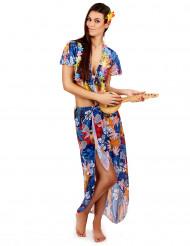 Disfraz de turista hawaiana para mujer