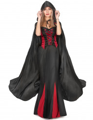Capa de Vampirella negra para mujer ideal para Halloween