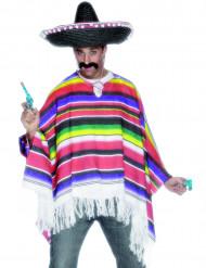 Poncho de mejicano para hombre