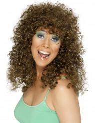 Peluca color castaño rojizo de minette para mujer