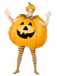 Disfraz de calabaza inflable para adulto ideal para Halloween