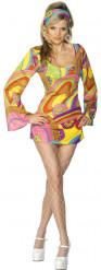 Disfraz de hippie sexy para mujer