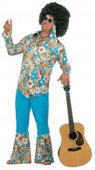 Disfraz de hippie baba-cool para hombre
