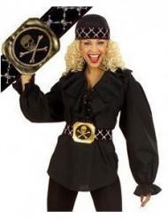 Cinturón de pirata para mujer