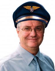 Gorra de auxiliar de vuelo para adulto