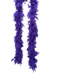 Boa púrpura para adulto