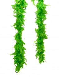 Boa verde fluorescente para adulto San Patricio