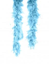 Boa azul turquesa para adulto
