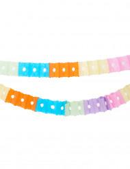 Guirnalda multicolor de papel 6 metros