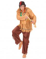 Disfraz de indio pálido para hombre