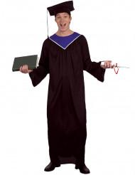 Disfraz de estudiante graduado para hombre