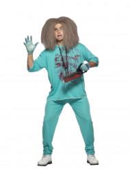 Disfraz de médico loco para hombre