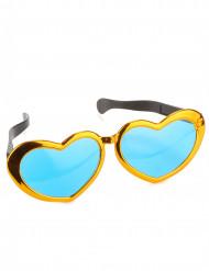 Gafas gigantes de corazones