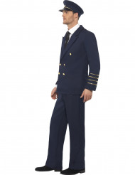 Disfraz de piloto de línea para hombre