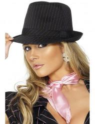 Sombrero de gánster para adulto