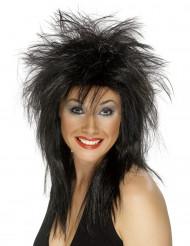 Peluca roquera para mujer ideal para Halloween