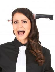 Cuchillo ensangrentado para Halloween