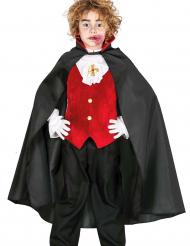 Capa de Drácula para niño o niña ideal para Halloween