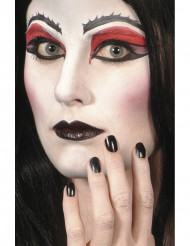 Maquillaje negro ideal para Halloween