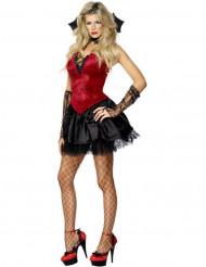 Disfraz de vampiresa sexy para mujer Halloween