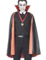 Capa de vampiro reversible para hombre Halloween