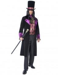 Disfraz de conde para hombre Halloween