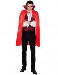 Capa roja de vampiro para hombre ideal para Halloween