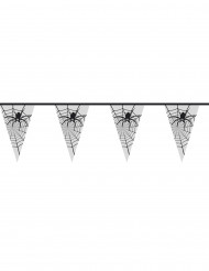 Guirnalda con arañas transparentes ideal para Halloween
