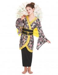 Disfraz de geisha para niña