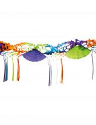 Guirnalda de papel de varios colores