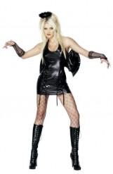 Disfraz de ángel negro sexy para mujer