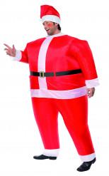Disfraz de Papá Noel inflable para hombre