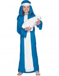 Disfraz de María para niña, ideal para Navidad