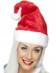 Gorro de Papá Noel rojo