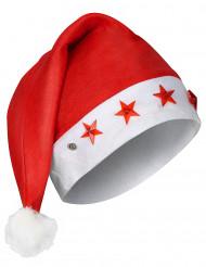 Gorro luminoso de Papá Noel