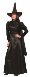 Disfraz de bruja de lujo para mujer, ideal para Halloween