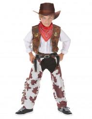 Disfraz de vaquero de lujo para niño
