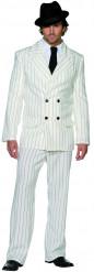 Disfraz de gánster blanco para hombre