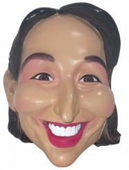 Máscara de Ségolène Royal