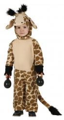 Disfraz de jirafa para niño o niña