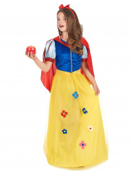 Disfraz de mujer de los bosques para niña