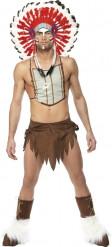 Disfraz del indio de los Village People para hombre