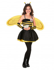 Disfraz de abeja para niña con antenas