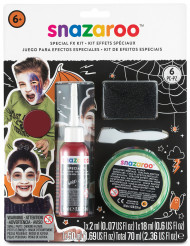 Kit efectos especiales heridas Snazaroo ideal para Halloween