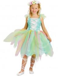 Disfraz de princesa flor para niña