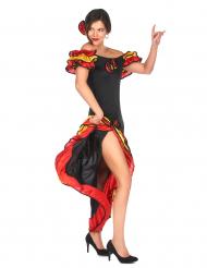 Disfraz de bailaora flamenca para mujer