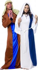 Disfraz de José y María para pareja