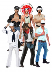 Disfraces oficiales de los Village People®