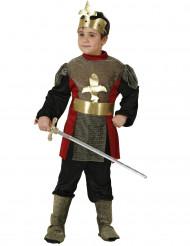 Disfraz de caballero flor de lys para niño