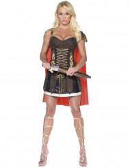 Disfraz de gladiadora romana sexy